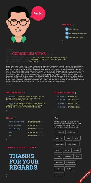 cv cho coder 13